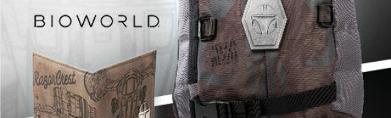 Bioworld – NYCC2020 : En exclusivité pour Entertainement Earth, un sac à dos et un portefeuille The Mandalorian