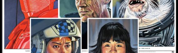 Les 5 nouveaux Artprint de Kris Penix proposés par Topps