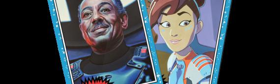 Topps Star Wars Living set : Une pilote et un Moff pour cette nouvelle semaine