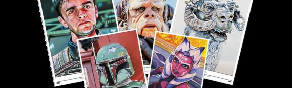 Topps Star wars Living Set : Les 5 artprints de la semaine