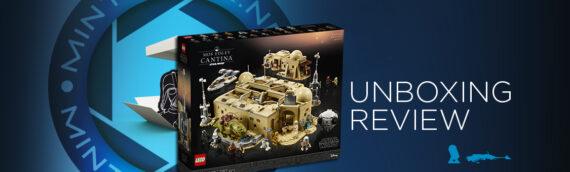 [Mintinbox Open the Box] LEGO Star Wars 75290 Mos Eisley Cantina