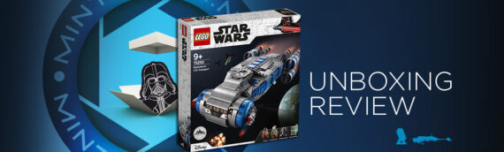 [Mintinbox Open the Box] LEGO Star Wars 75293 Resistance ITS Transport