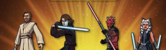 FigPin – Les pins The Clone Wars arrivent
