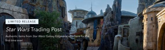 Star Wars Galaxy Edge – Les produits dérivés sont disponibles en ligne