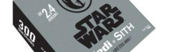 """Hachette Heroes : Nouvelle édition 2020 de leur jeu """"Jedi ou Sith"""""""