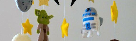 Hellishop : Un mobile Star wars pour décorer le lit de votre bébé