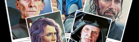 Topps Star wars Living Set: Les 5 nouveaux artprints de la semaine.