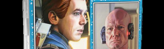 Topps Star Wars Living Set : Cal Kestis et Lobot pour cette nouvelle semaine