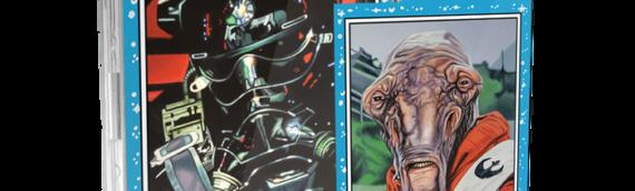 Topps Star Wars Living Set : 2 pilotes pour cette nouvelle semaine