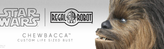 REGAL ROBOT – Chewbacca Life-Size Bust Custom Edition