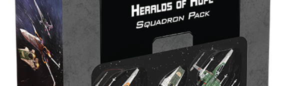 Fantasy Flight Games: Heralds of Hope Squadron Pack