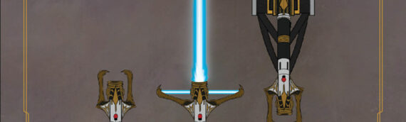 The High Republic : Le sabre laser de Maître STELLAN GIOS'S