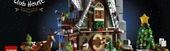 LEGO – 10275 Winter Village Elf Club House