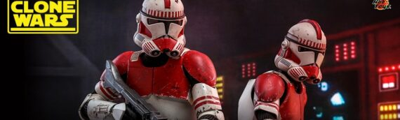 HOT TOYS : The Clone Wars – Coruscant Guard Sixth Scale Figure