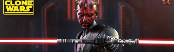 HOT TOYS – Star Wars: The Clone Wars – Darth Maul Sixth Scale Figure