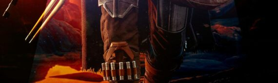 "HOT TOYS – Teaser de la nouvelle statue du ""Mandalorian & The Child"" Quarter Scale"