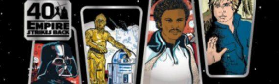 Gamestop-ThinkGeek: Un  set de 4 verres pour les 40 ans de l'Empire contre-attaque