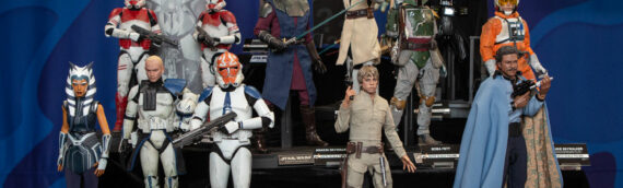 HOT TOYS – Les statues Star Wars à la Sideshow New York Con