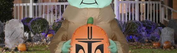 Halloween : Une décoration gonfable de Baby Yoda