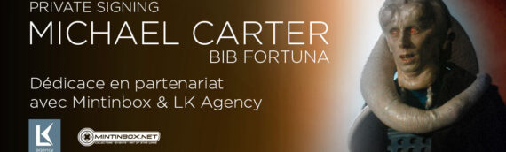 PRIVATE SIGNING – BIB FORTUNA (Michael Carter) en dédicace en partenariat avec Mintinbox & LK Agency