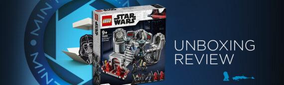 [Mintinbox Open the Box] LEGO Star Wars 75291 Death Star Final Duel