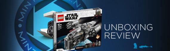 [Mintinbox Open the Box] LEGO 75292 Star Wars Le Razor Crest