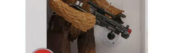 Disney Store : Une figurine parlante de Chewbacca