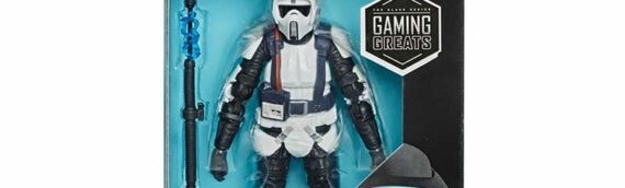 HASBRO – Scout Trooper from Jedi Fallen Order The Black Series (GAMING GREATS)