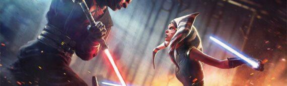 ACME Archives : Un duel entre Ahsoka et Darth Maul pour ce nouvel artwork