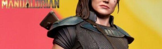 Sideshow – Virtual NYCC2020 : La statuette Pf de Cara Dune dévoilée
