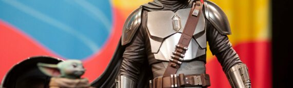 Sideshow New-York Virtual Con : Vidéo de The Child Life Size et de la PF de The Mandalorian