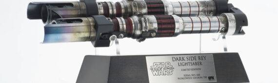 eFX Collectibles – Dark Side Rey Lightsaber disponibles chez Sideshow Collectibles