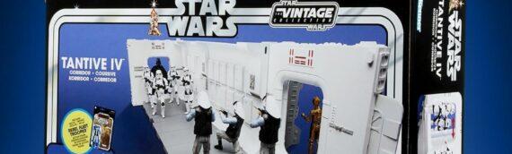 Hasbro-TVC : Packaging du Couloir du Tantive IV