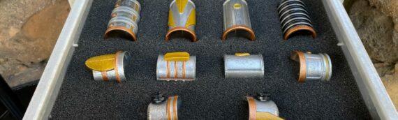 Galaxy's Edge – Savi's Workshop : Des éléments pour sabre en vente dans les parcs US.