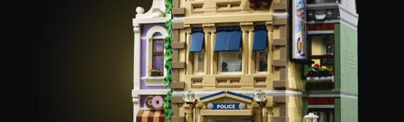 "LEGO – On lève le voile sur le Modular 2021 ""10278 Police Station"""