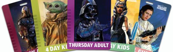 Star Wars Celebration Anaheim – Le set de badges est disponible