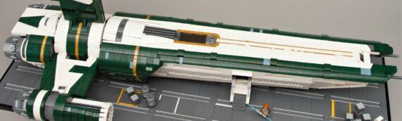 LEGO – Un MOC géant du Mentis tiré de Jedi Fallen Order