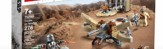 LEGO – The Mandalorian 75299 Trouble on Tatooine