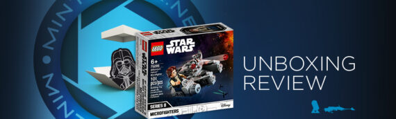 [Mintinbox Open the Box] LEGO Star Wars 75295 Millennium Falcon Microfighter