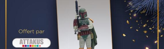Calendrier de l'avent Star Wars de MINTINBOX – 06/12/2020: la statuette Elite Series de Boba Fett offerte par Attakus