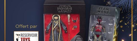 Calendrier de l'avent Star Wars de MINTINBOX – Jour 7: Deux figurines Black series offertes par la boutique Reservoir Toys