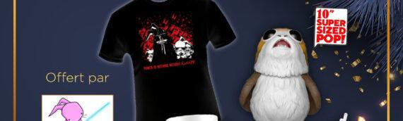 Calendrier de l'avent Star Wars de MINTINBOX – Jour 8: Un lot de différents produits offerts par la boutique Lapinourose