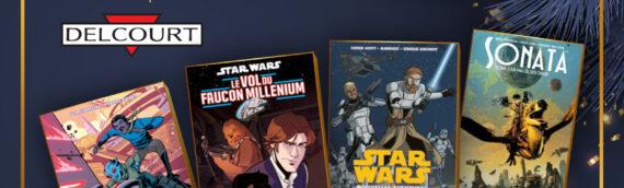 Calendrier de l'avent Star Wars de MINTINBOX – Jour 9:  Plusieurs BD offertes par les éditions Delcourt