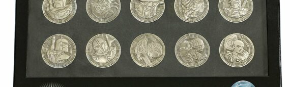 """Star wars Celebration Store : Un Set de 10 Coins """"Bounty Hunters"""""""