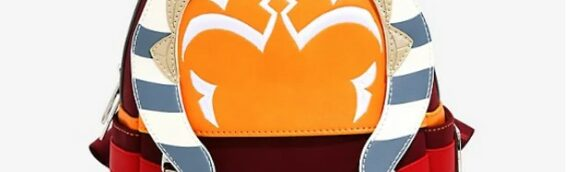 Loungefly : Un mini sac à dos aux couleurs d'Ahsoka Tano disponible