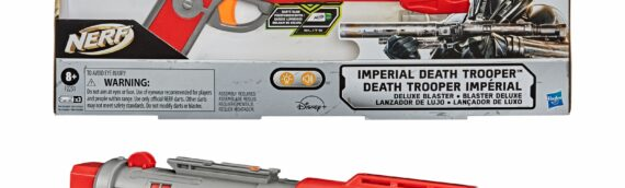 Mando Mondays – Hasbro : Le blaster NERF des Deathtrooper