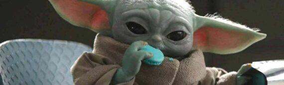 Les macarons bleus de Baby Yoda disponibles aux Etats-Unis chez Williams Sonoma
