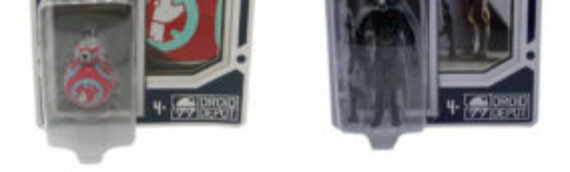 Galaxy's Edge – Droid Depot : 2 droïdes et un coffret disponible dans les parcs