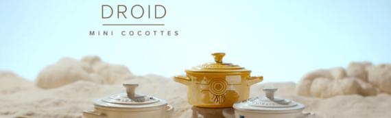 ShopDisney FR: Les trois mini-cocottes droides sont disponibles.
