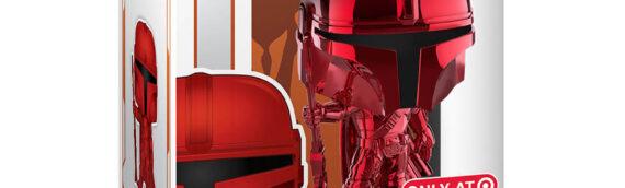 FUNKO POP – The Mandalorian RED Chrome (Target Exclusive)